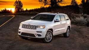 The Jeep Grand Cherokee Summit