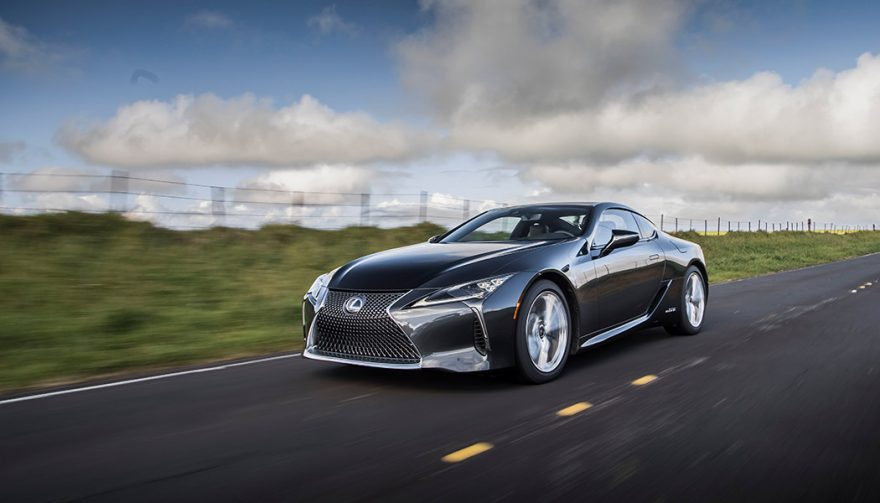The 2018 Lexus LC 500h is one of the best hybrid sports cars