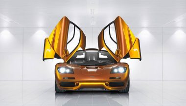 Gordon Murray designed the original McLaren F1 concept