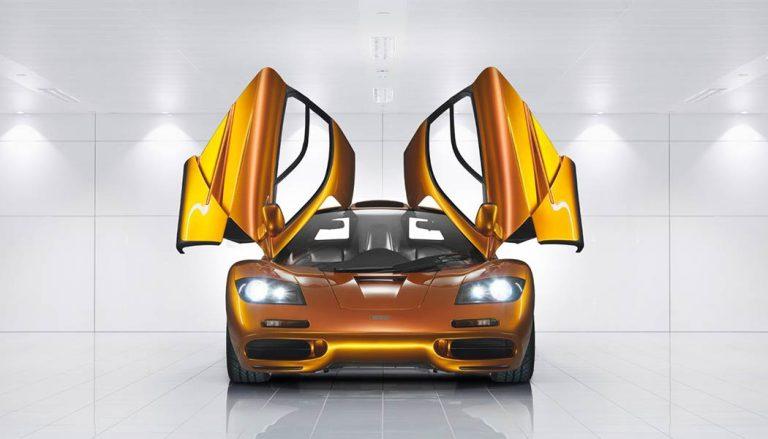 Gordon Murray designed the original McLaren F1 concept