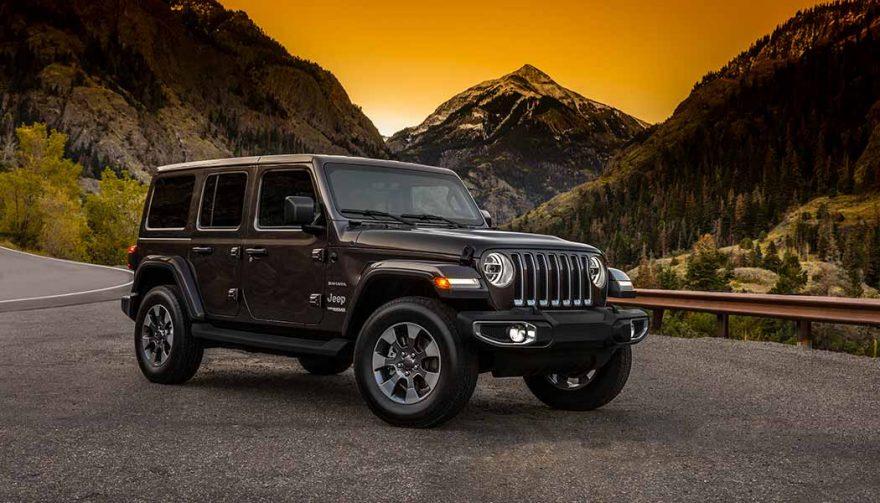 The new 2018 Jeep Wrangler