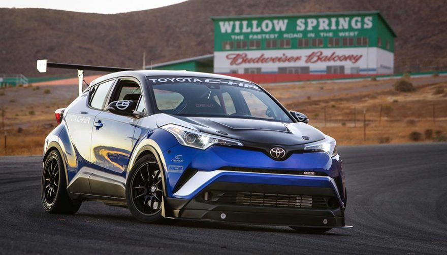 The oyota C-HR R-Tuned was at SEMA