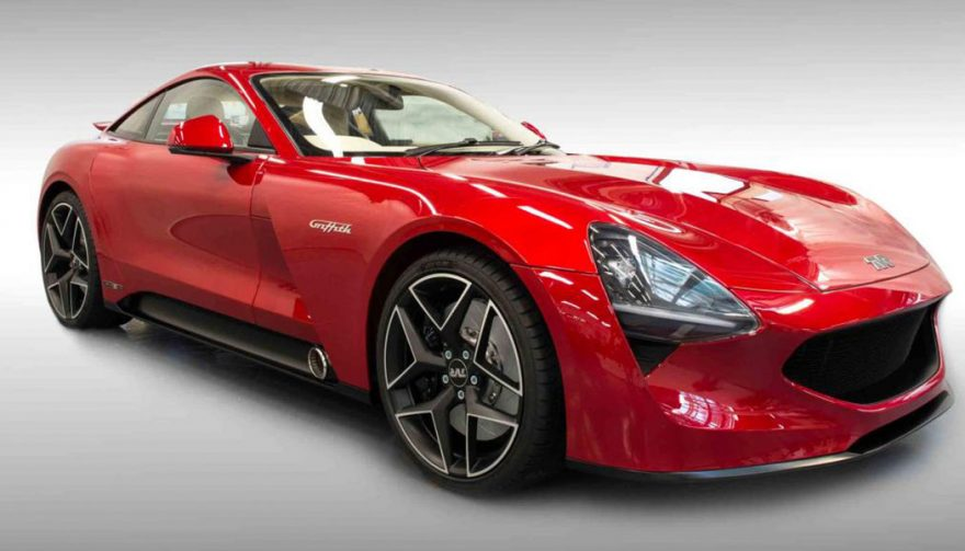 Gordon Murray designed the TVR Griffith