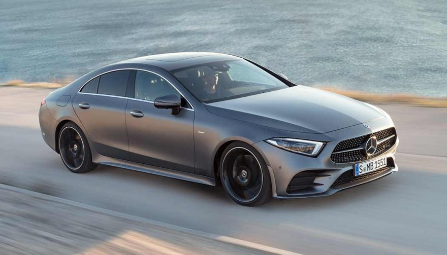 The 2019 Mercedes-Benz CLS450 at the LA Auto Show