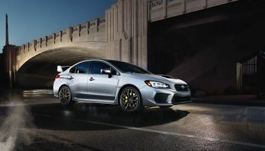 The Subaru WRX STI is one of the best AWD cars
