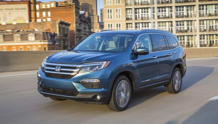 The Honda Pilot is one of the best family suvs