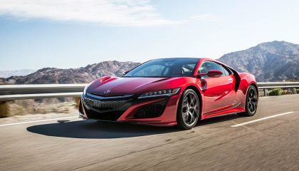 The Acura NSX is one of the best hybrid sports cars