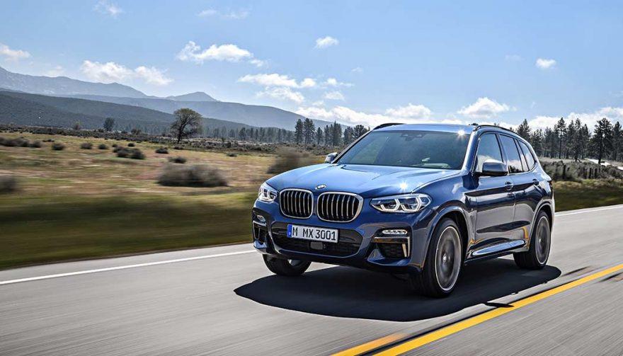 The 2018 BMW X3