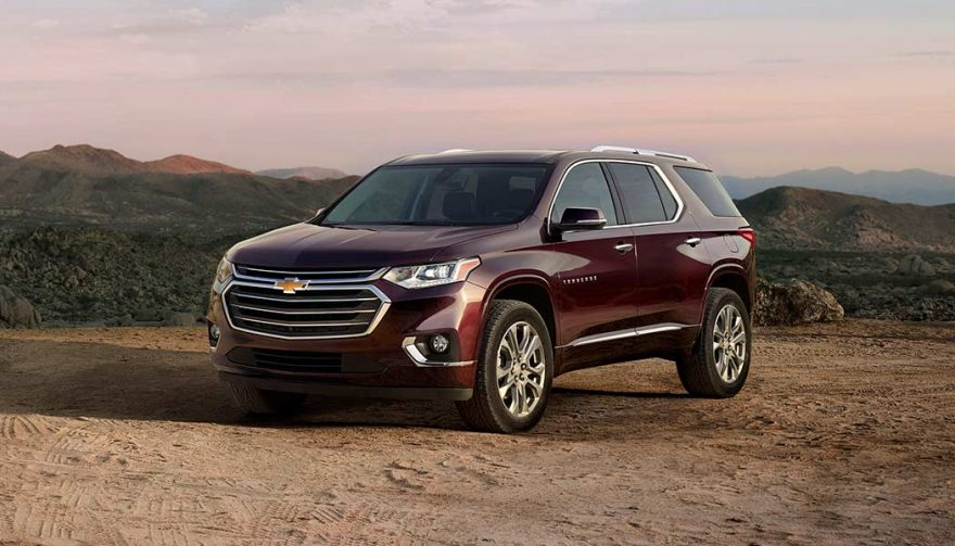 The Chevrolet Traverse is one of the best family suvs