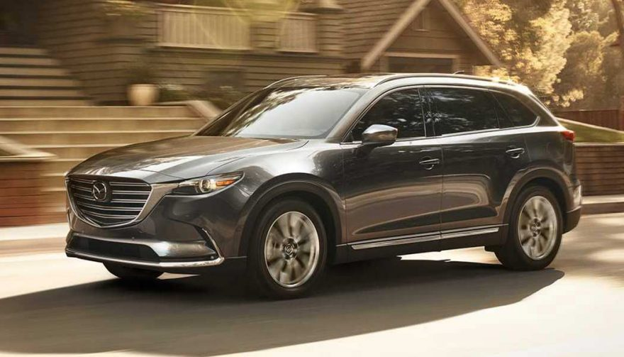The Mazda CX-9 is one of the best family suvs