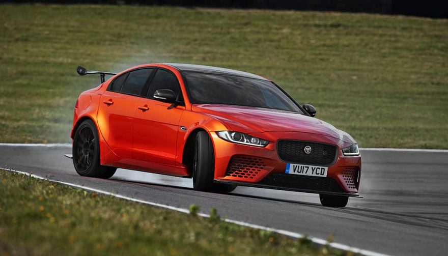 Jaguar XE SV Project 8 at the LA Auto Show
