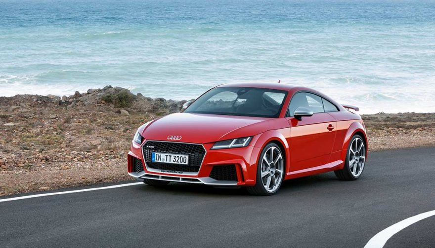The 2018 Audi TT RS Coupe is one of the most fun cars to drive