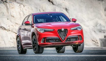 The 2018 Alfa Romeo Stelvio Quadrifoglio is the best luxury suv