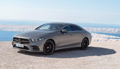 The 2019 Mercedes-Benz CLS