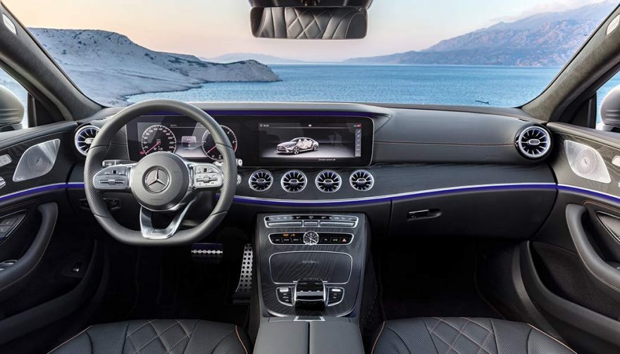 The 2019 Mercedes Benz CLS