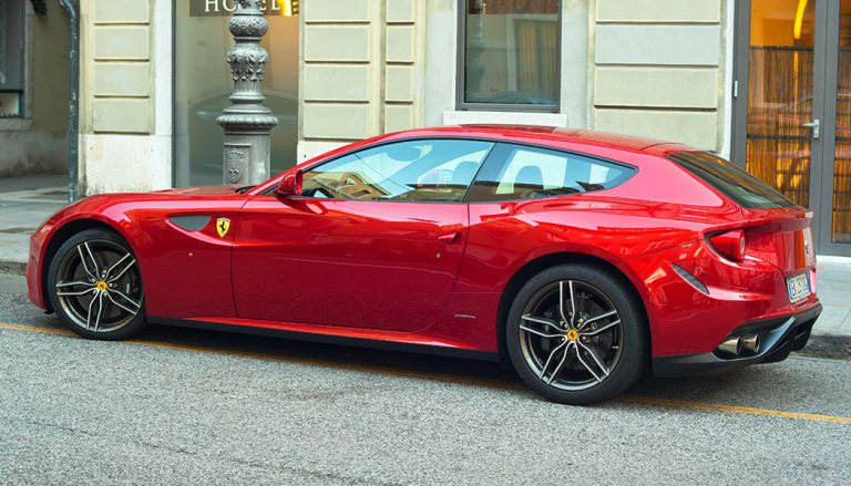 The Ferrari FF is one of the best shooting brakes