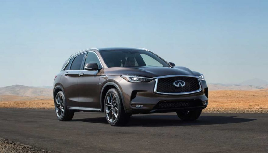 The 2019 Infiniti QX50 made its debut at the LA Auto Show