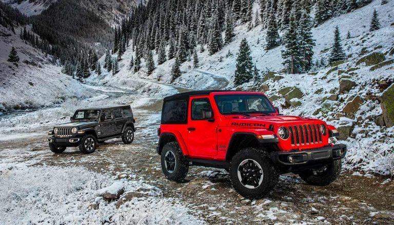 The all new Jeep Wrangler made its debut at the LA Auto Show