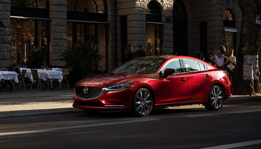 The 2018 Mazda6 at the LA Auto Show