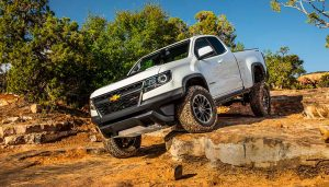The 2018 Chevrolet Colorado ZR2 is a capable off road truck