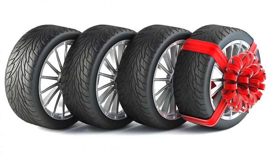 New tires is one of many great gift ideas for car lovers