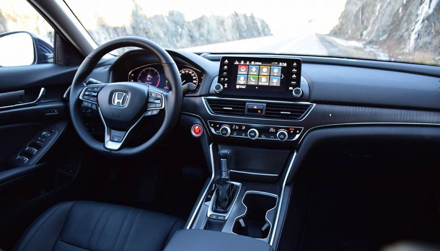The interior of the 2018 Honda Accord is roomier