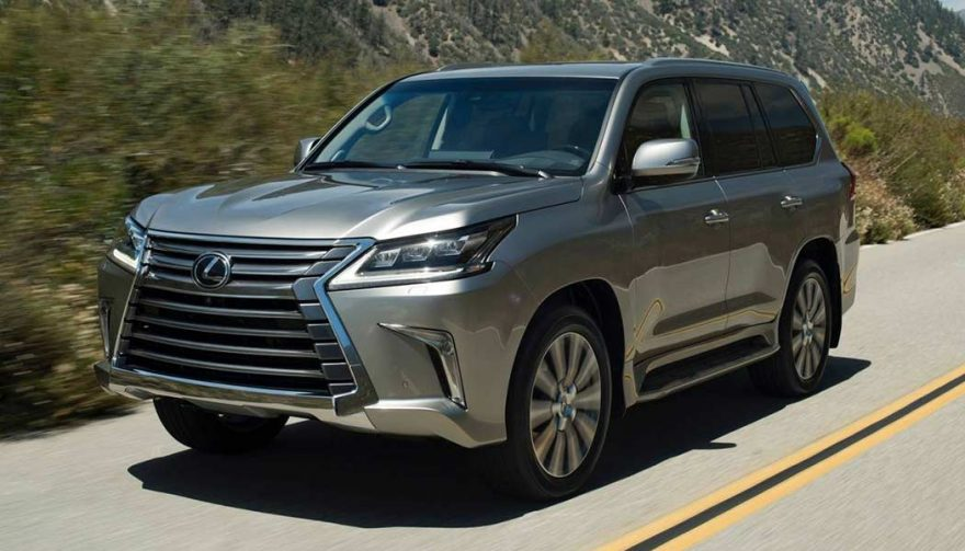 The Lexus LX is one of the best family suvs