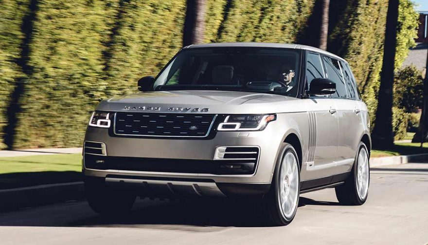 The 2019 Range Rover SVAutobiography at the LA Auto Show