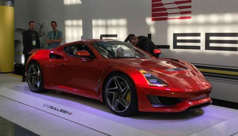 The Saleen 1 at the LA Auto Show