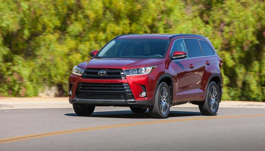 The Toyota Highlander is one of the best family suvs