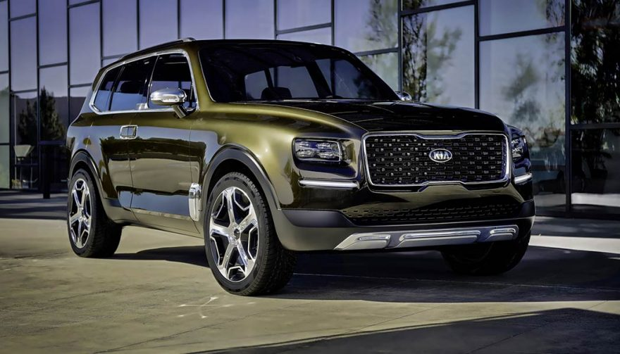 Three Row Kia Telluride Suv Coming To Production