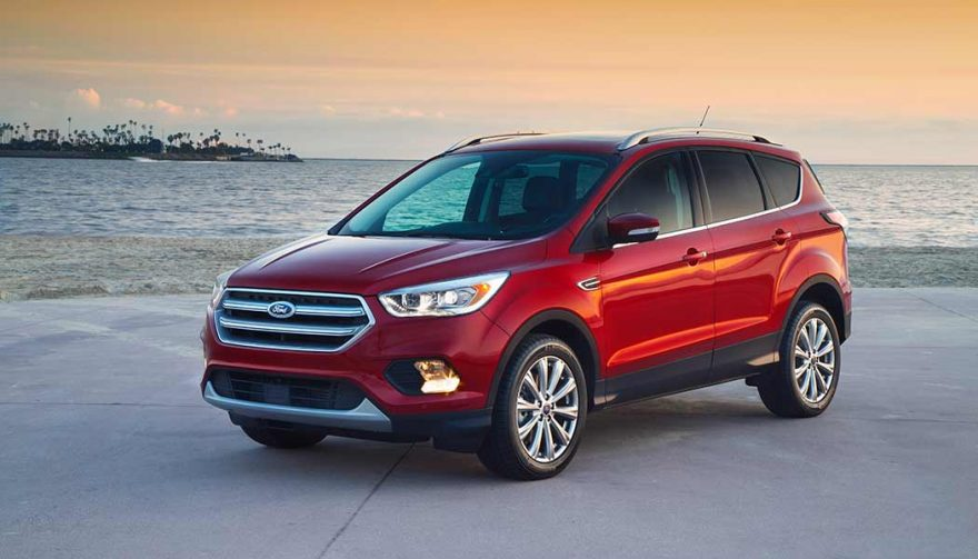 The Ford Escape was one of the best selling SUVs in 2017