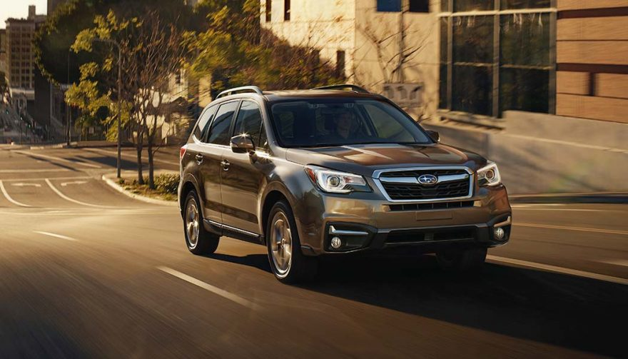 The 2018 Subaru Forester is one of the best compact suv models