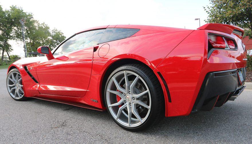 2014 Corvette Z51 Rear 3/4