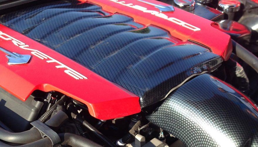 2014 Corvette Stingray Z51 Custom Engine Bay