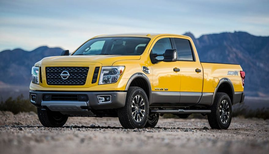 The Nissan Titan was one of the best selling trucks in 2017