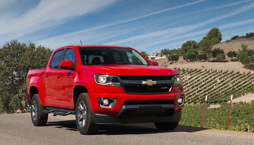 The Chevrolet Colorado was one of the best selling trucks in 2017