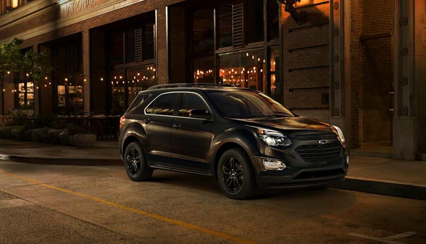 The Chevrolet Equinox was one of the best selling SUVs in 2017