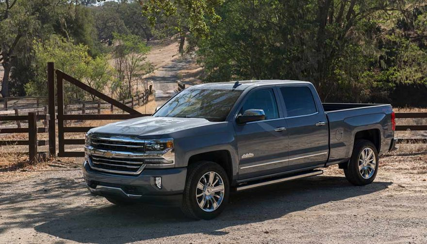 The Chevrolet Silverado was one of the best selling trucks in 2017
