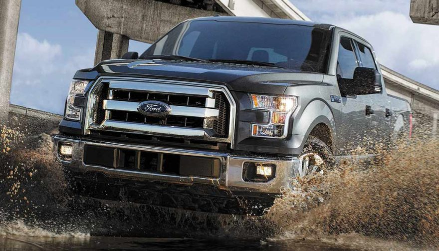 The Ford F-Series was the best selling truck