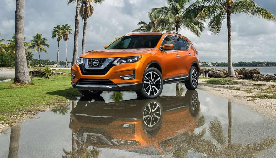 The Nissan Rogue was one of the best selling SUVs in 2017