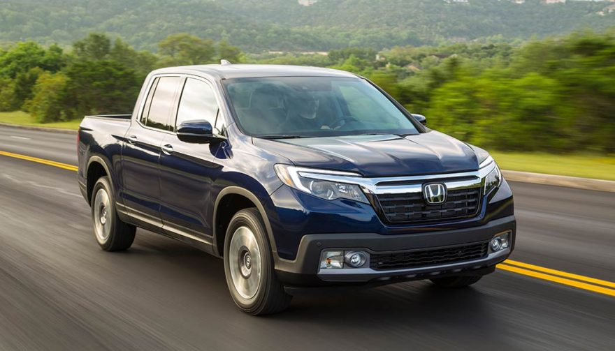 The Honda Ridgeline was one of the best selling trucks of 2017