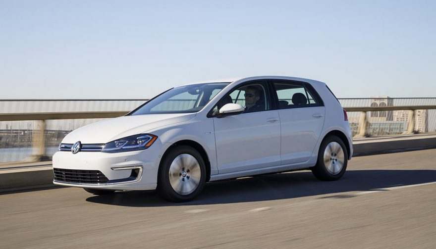 The 2018 Volkswagen e-Golf is one of the longest range electric car models