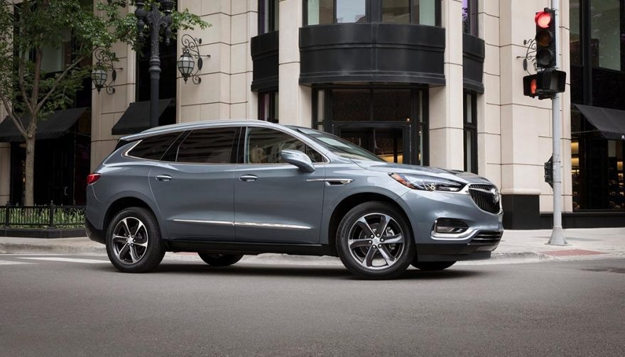 The Buick Enclave was one of the best selling luxury suvs