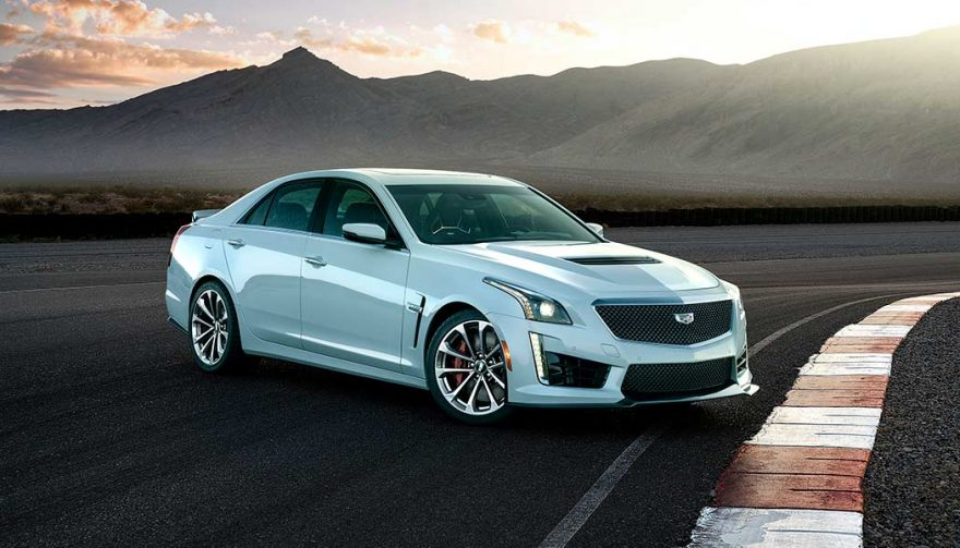 The 2018 Cadillac CTS-V is one of the fastest cars under 100K