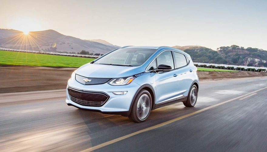 The 2018 Chevrolet Bolt is one of the longest range electric car models