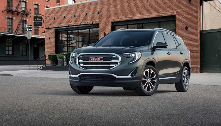 The 2018 GMC Terrain is one of the best compact suv models