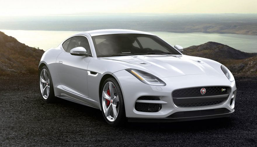 The 2018 Jaguar F-Type R Coupe is one of the fastest cars under 100K