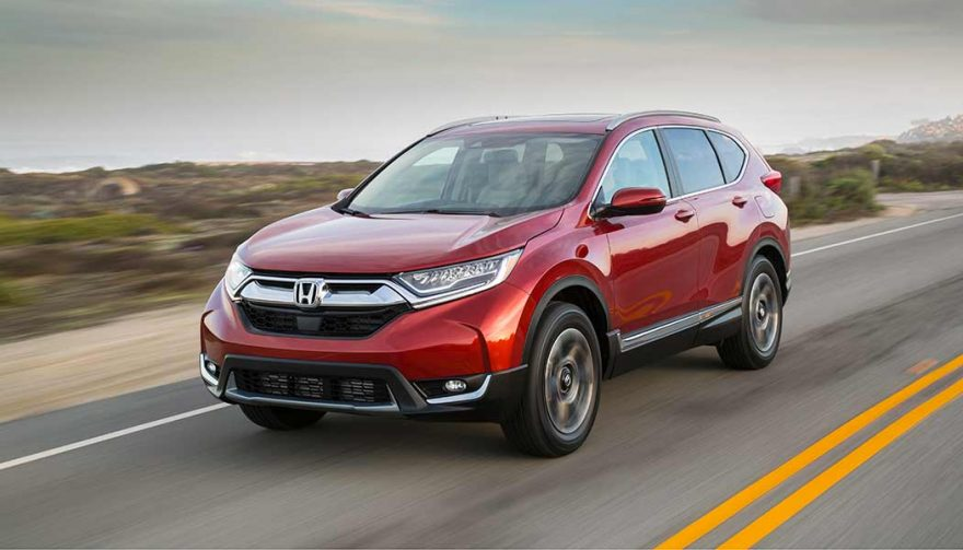 The Honda CR-V was one of the best selling SUVs in 2017