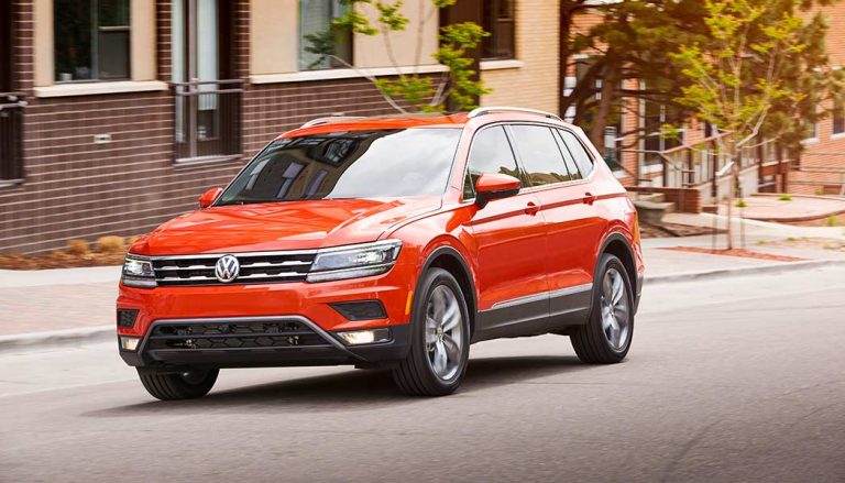 The Volkswagen Tiguan is one of the best compact SUV models